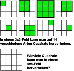 wie viele quadrate hat ein schachbrett